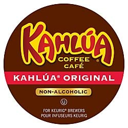 Kahlua Original, Single Serve Coffee K-Cup Pod, Light Roast, 24