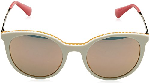 Grey Prada Yellow CINEMA Sonnenbrille Amarillo Ivory Gold PR 17SS Rose FF0Yrw