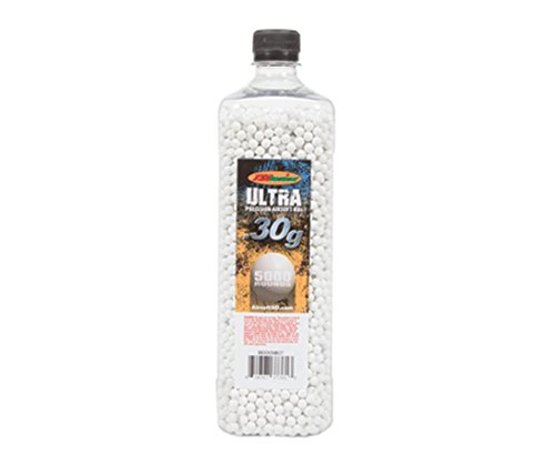 TSD Tactical 6mm High Grade Seamless BBs in Bottle (White, .30g 5000 Rounds)