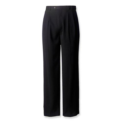 Gabardine Pleats Trousers - 3