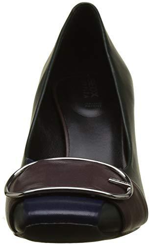 Geox Mujer Tacón Zapatos D dk High C3h7j D Forest Burgund dk Para De Vivyanne rxnwr8qAF6