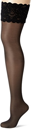 Collants Satin 20 Touch up Blau Wolford Stay admiral 5280 Femme Odwq7wXx