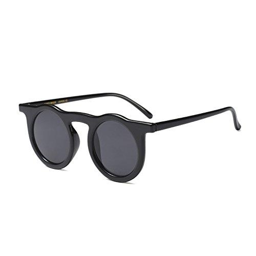 Rot Schwarz Flache Sonnenbrille Runde Diseñador KXLEB C3 Weiß C1 Frauen Sonnenbrille Marke Top Retro Leopard Für Czqw1B