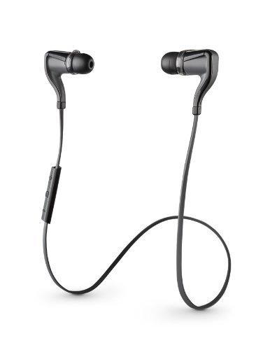 Plantronics BackBeat Go 2 Wireless Hi-Fi Earbud Headphones,