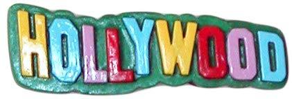 (Hollywood, California Sign Souvenir Refrigerator Magnet)