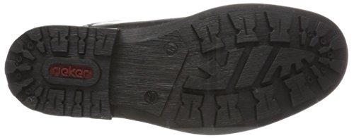 schwarz Noir Homme Eu Noir Classiques Bottes anthrazit schwarz 41 Rieker 36030 schwarz IwTz66