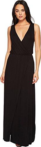 American Rose Women's jain Maxi Dress Black Small