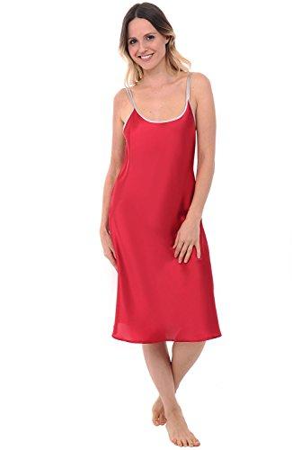 60a8585000 Jual Alexander Del Rossa Womens Satin Nightgown