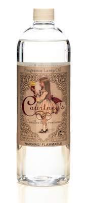(Liter - 33.5 oz Courtneys Fragrance Lamp Oils - Orchid RAIN)
