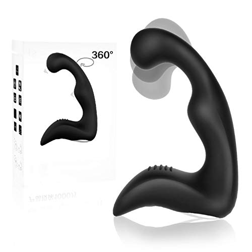 MDOUWoo Brand New Adult Masturber Male 9 Powerful Male Prostate Mage with Ringg USB Rechargeable Anale Vibrato Toys for Men Butt Pluge Training,Battery,Bootie Pluge Butt Metal,USB Rechargeable 1