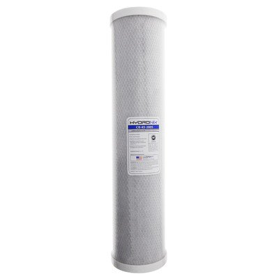 NSF 5 Micron Carbon Under Sink Replacement Filter by Hydronix