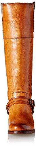 Frye Women's Abbey Plate Tall Boot Tan G4jIt