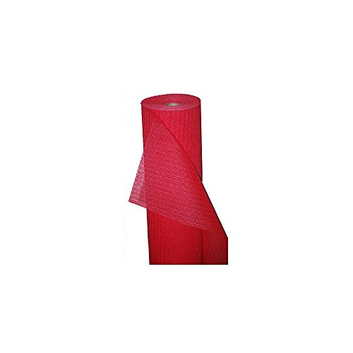 Kittrich 60F367604-01 Red 3' x 60' Magic Grip Case Liner - 1 / RL by Kittrich Corporation