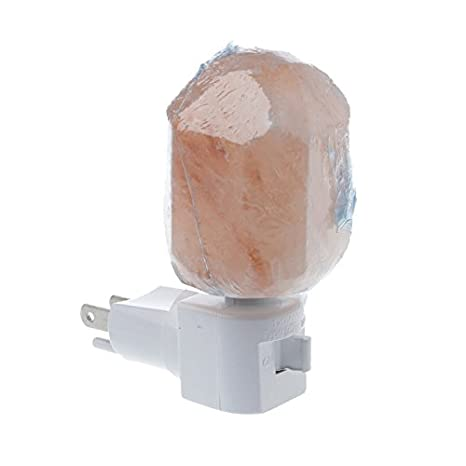 Eu Us Plug Rotatable Cylinder Himalayan Salt Lamp Air Purifier Crystal Salt Rock Bedside Night Light For Bedroom 100% High Quality Materials Led Night Lights
