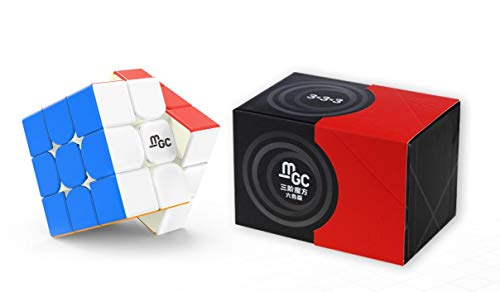- CuberSpeed YJ MGC II 3x3 M stickerless Speed Cube YJ MGC V2 Magnetic Color 3x3x3 Magic Cube Puzzle