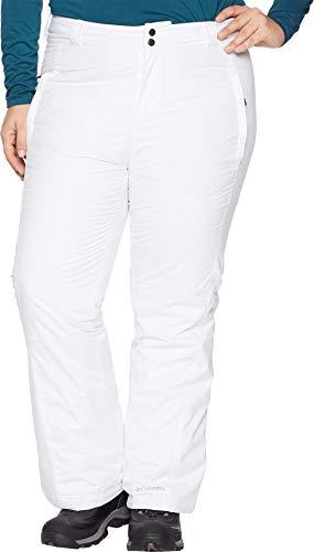 Columbia Women's Plus-Size Modern Mountain 2.0 Pant, White, 1X