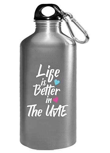 Life Is Better In The UAE Pride - Water Bottle