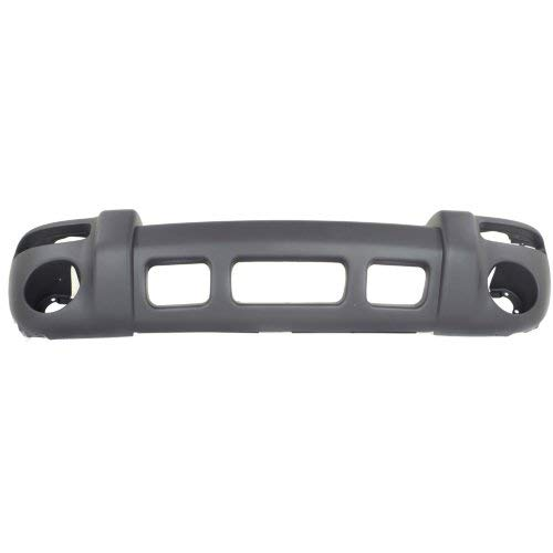 Garage-Pro Front Bumper Cover for JEEP LIBERTY 2002-2004 Textured Limited/Sport ()