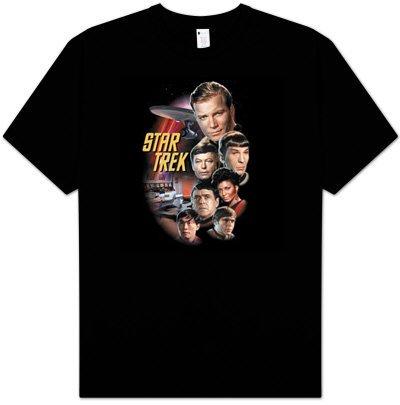 Classic Adult Black T-Shirt - 1