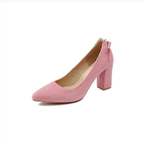 Shoes APL10545 Pumps Pink BalaMasa Casual Womens Outdoor Solid Urethane q80Yq4r