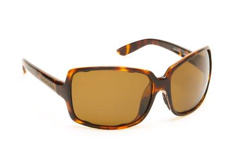 Native Eyewear Clara Sunglasses (Maple Tort, - Warranty Native Sunglass