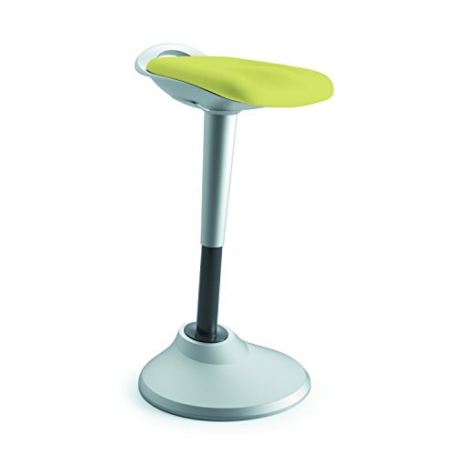 HON Perch Stool, Sit to Stand Backless Stool for Office Desk, Green (HVLPERCH)