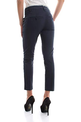 Femme Pantalon Dondup Dp066 Bleu Rs986d Perfect Ptd IqOXqA