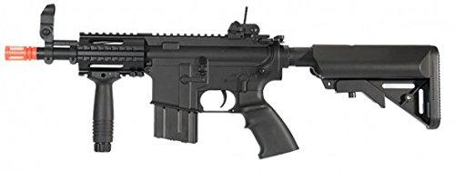 A&K B.U.I.S Stubby M4 CQB-05 AEG Airsoft Gun (Black)