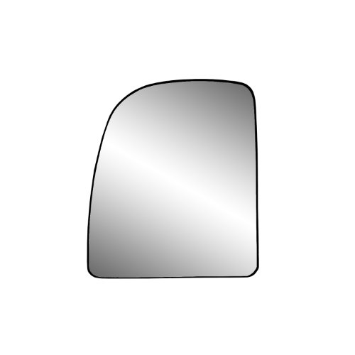 Wagon Driver Mirror Glass (Fit System 88237 Ford Left Side Manual/Power Replacement Mirror Glass with Backing Plate)