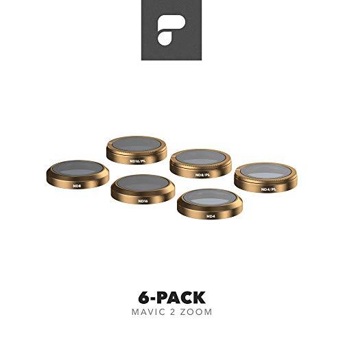 PolarPro Filter 6-Pack - Filters for DJI Mavic 2 Zoom - Cinema Series Mavic 2 Filters