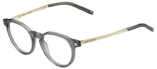 YVES SAINT LAURENT Eyeglasses SL 25 08Or Gray / Rose Gold 49MM