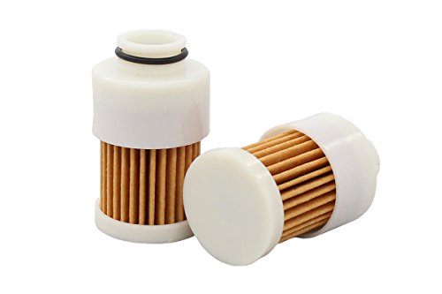 2 Pack 68V-24563-00-00 Fuel Filter Element for Yamaha 75 Bodensee 90 HP 115 EFI Outboard F50 F60 F75 F90 F115 4 Stroke Replaces Mercury Marine 881540 Sierra 18-7979