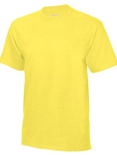 shirt Usa Homme Jaune t Beefy Hanes T WTPUdaZZn