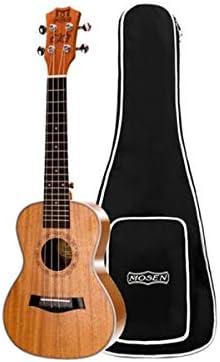 ウクレレ、ウクレレ、ウクレレ、21インチ、26インチのフルマホガニーギターフィンガー (Color : Brown-26 inches)