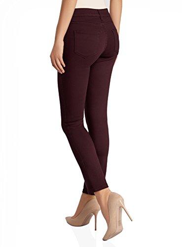Jean oodji 4900n Femme Skinny Basique Rouge Ultra AA1rnxE