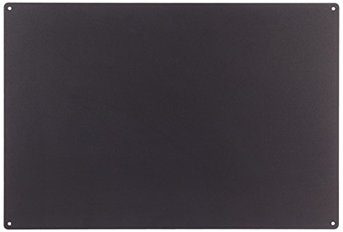 KalaMitica Steel Magnetic Chalkboard. Dimensions 56x38x0.12cm Charcoal Colour from KalaMitica