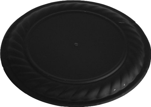 Speedi-Products SP-DFS 06 6-Inch Diameter Black Decorative Flue Stop