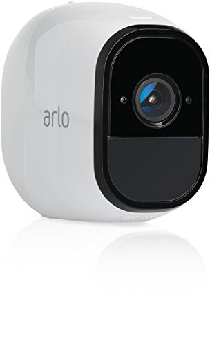 Arlo Pro by NETGEAR Add-on Security Camera – Add-on Rechargeable Wire-Free HD Camera with Audio, Indoor/Outdoor, Night Vision (VMC4030) [Existing Arlo System required] (Certified Refurbished)