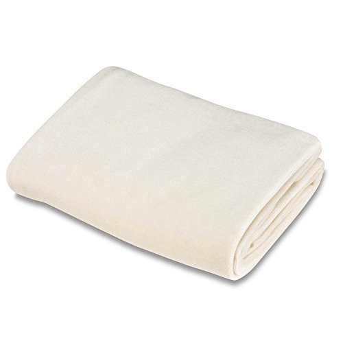 100% Organic Cotton, Soft Velour, Snug Fit Bassinet Sheet in