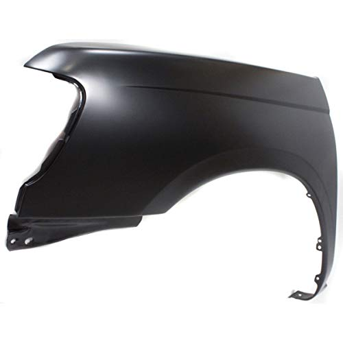 for Nissan Frontier NI1240158 1998 to 2000 Front, Driver Side New Fender