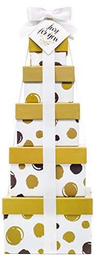 Gift Basket for Him - Box Tower 16'' - 6 Tier