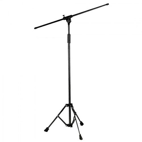 Pedestal para 1 Microfone Girafa, ASK, TPA, Preto