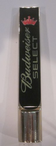 Budweiser Draft Beer - Budweiser Select 5 1/4' Inch Draft Beer Tap Handle