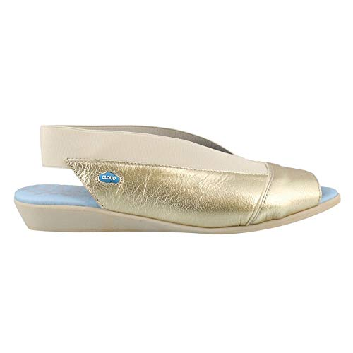 Cloud Women's Caliber Slide Shoes (37 M EU, Gold) ()