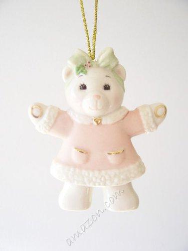 Lenox Teddy Bear Girl Ornament