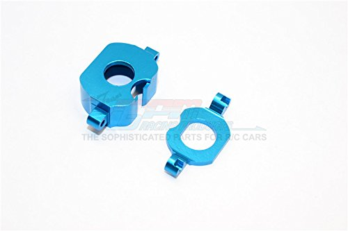 XMods Generation 1 Upgrade Parts Aluminum Motor Heatsink Mount - 2Pcs Blue (Blue Servo Mounts Aluminum)