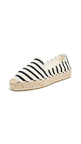 Natural Smoking Stripe Classic Slipper Soludos Black Women's nHXxSS