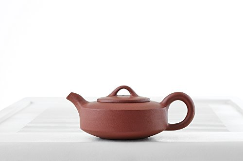 Yixing Clay Teapot with Long Spout Ceramic Kettle Tea Pot Chinese Teaware Pottery (copper)