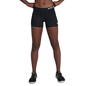 NIKE Womens Pro Compression 3″ Short Black/White S 589364-010-S