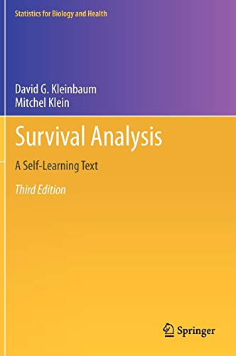Survival Analysis: A Self-Learning Text, Third Edition (Statistics for Biology and Health)
